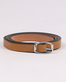 Joy Collectables Skinny Belt Nude