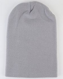 Joy Collectables Mens Winter Beanie Grey