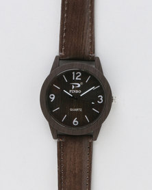 Joy Collectables Mens Watch Brown