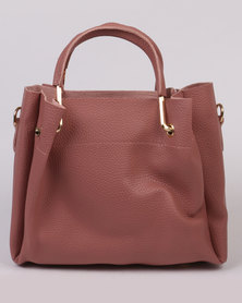 Joy Collectables Structured Hand Bag Pink