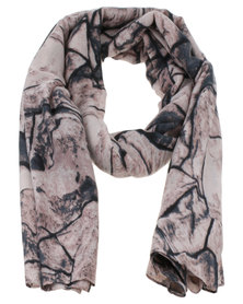 Joy Collectables Ladies Fashion Print Scarf multi