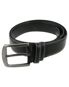 Joy Collectables Mens Plain Belt Black