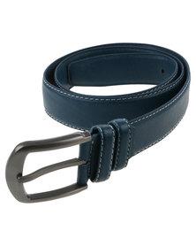 Joy Collectables Mens Plain Belt Blue