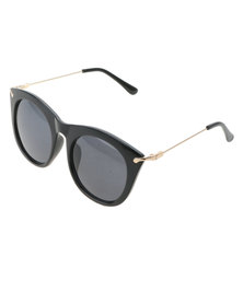 Joy Collectables Ladies Fashion Sunnies With Pouch Black