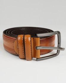 Joy Collectables Mens Belt Brown