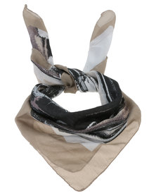 Joy Collectables Ladies Fashion Scarf Taupe