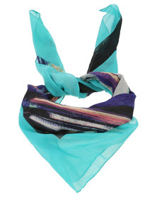 Joy Collectables Ladies Fashion Scarf Turquoise