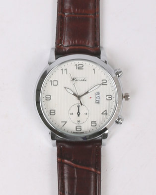 Joy Collectables Water Proof Watch Brown