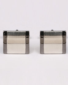 Joy Collectables Big Square Cufflinks Black
