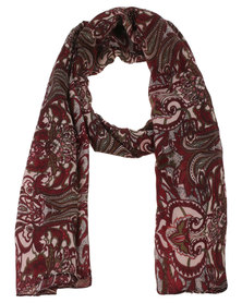 Joy Collectables  Ladies Fashion Scarf Red