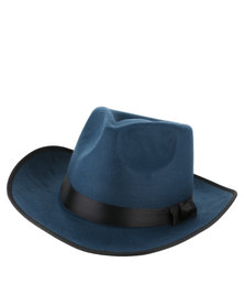 Joy Collectables Ladies Fashion Hat Blue