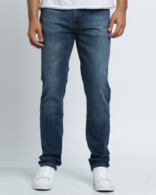 K7Star Zack Denim Jeans Dark Blue