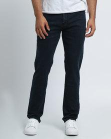 K7Star Zack Denim Jeans Deep Dark Black