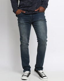 K7Star Zack Denim Jeans Ash Blue
