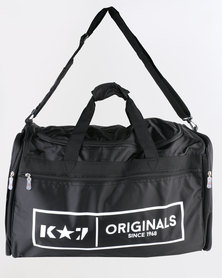 K7Star Sergio Large Branded Togbag Black