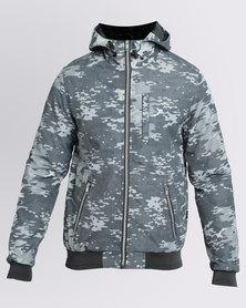 K7Star Moss Camo Jacket Grey
