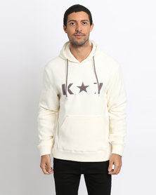 K7Star Ice Pullover Hoodie Off White