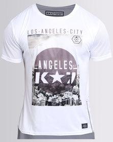 K7Star LA T-Shirt White