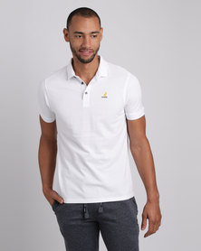 Kangol Roosevelt Mens Polo White