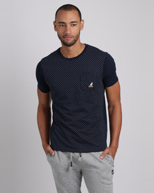 Kangol Westin V2 T-Shirt Navy