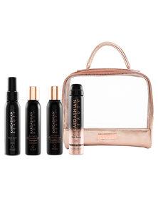Kardashian Beauty Rose Gold Beauty Haircare Travel Kit