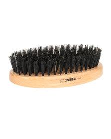 Kent Men's Grooming Brush Beechwood And Boar Bristle Brown