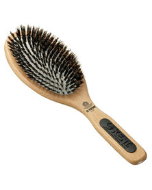 Kent Large Cushion Rubber Hair Brush With Boar Bristles