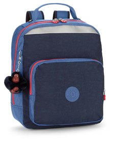 Kipling Ava BTS Medium Backpack With Padded Straps Blue And Purple