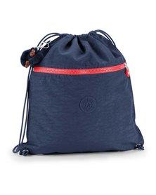 Kipling Supertaboo Drawstring Backpack Navyblue