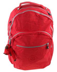 Kipling Clas Seoul Backpack Vibrant Red