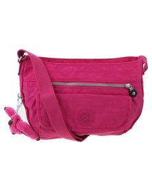 Kipling Syro Shoulder Bag Pink