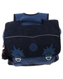 Kipling Iniko School Bag Blue