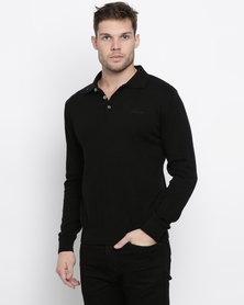 Klevas Classic Collar Knitwear Black