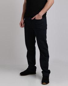 Klevas Dodger Dark Denim Jeans Black/Blue