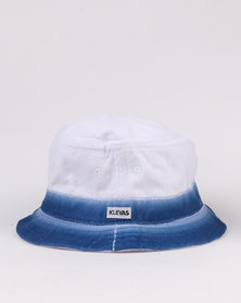 Klevas Spray Hat White/Blue
