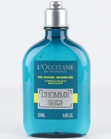 L'Occitane L'Homme Cédrat Shower Gel 250ml