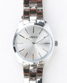 Lanco Bracelet Watch Silver-tone