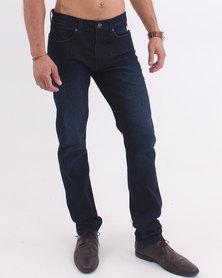 Lee Detroit Stretch Jeans New Blue