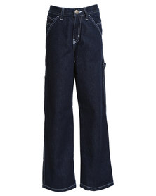Lee Boys Boss Of The Road - Relaxed Carpenter Jeans Blue