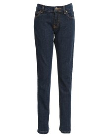 Lee Boys Troublemaker-Slim Skinny Jeans Blue