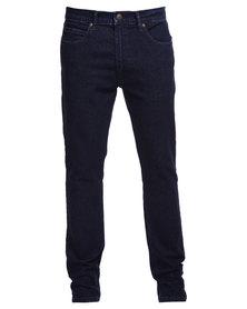 Lee Detroit Stretch Slim Leg Jeans Indigo