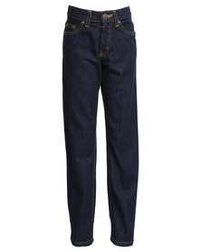 Lee Boys Baltimore Regular Straight Jeans Blue