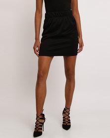 Leigh Schubert Hop Mini Skirt Black