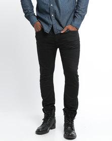Levi's ® 519 Extreme Skinny Fit Pinhead Rinse Jeans Black