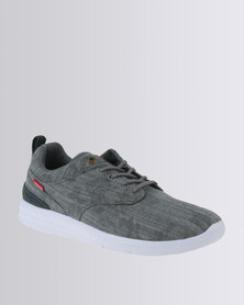 Levi's ® Ryder Denim Casual Low Cut Lace Up Sneaker Grey
