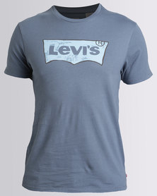 Levi's Housemark Graphic T-Shirt Blue