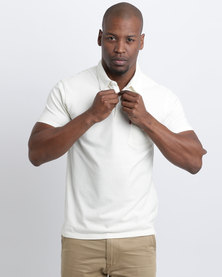 Levi's Short Sleeve Sunset Polo T-Shirt Marshmallow