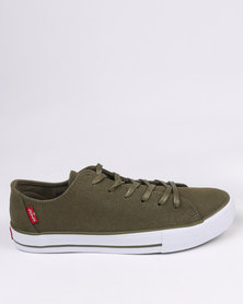 Levi's Heritage Lo M/M Suede Low Cut Sneaker Olive