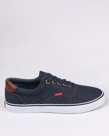 Levi's Rocklin Denim Low Cut Sneaker Navy/Tan
