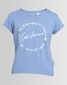 Levi's Marina California Laurel Tee New Blue